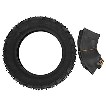 Vbest life 10in Electric Scooter Tire Set 255x80 E-Scooter Inflatable Rubber Tire with Inner Tube Modification Part