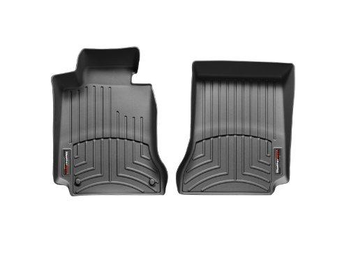 WeatherTech Custom Fit Front FloorLiner for Mercedes-Benz C300/C350/C63 (Black)