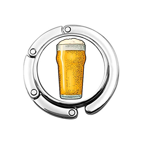 Cerveza Bebida Fiesta Celebración Suministro Lindo Monedero Bolsas para Colgar Colgador Diseños únicos Bolsa de Almacenamiento de sección Plegable