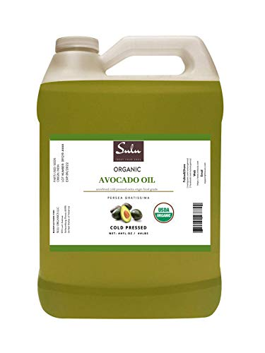 64 FL.OZ Pure Certified Organic Unrefined Extra Virin Raw Avocado Oil