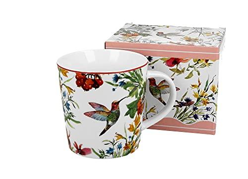 DUO Kaffeetasse Latte Teetasse Linnea 400ml Latte-Tasse Cappuccinotasse Kaffee-Tasse Cappuccino-Tasse Porzellan Porzellantasse Kaffeebecher Kaffee-Becher Tee-Becher Porzellan-Tasse Lattetasse