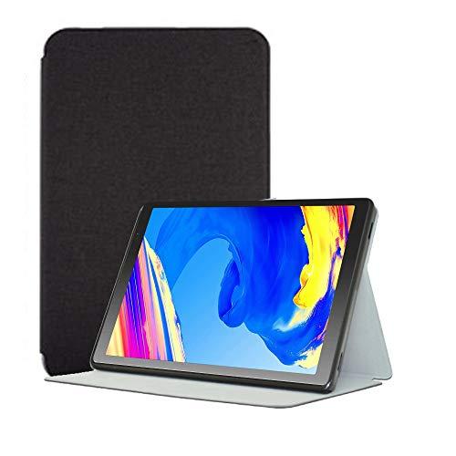 YGoal Funda para Tablet 10 Pulgadas -  Multiángulo PU Cuero Folio Carcasa para Vankyo MatrixPad S20 10 Pulgada,  YUNTAB 10.1 Pulgada D107 y Prixton T9120 10.1 Pulgada,  Negro