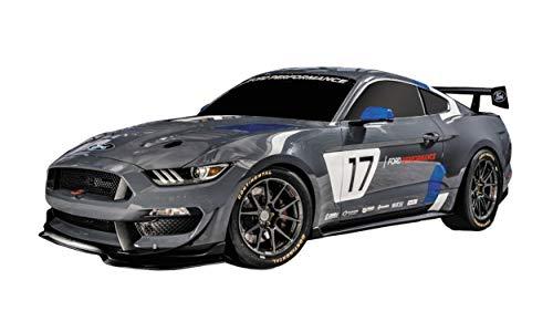 Mondo Motors 63544 Global Mustang GT4 - Modelljahr 1:28 - bis 10 km/h Geschwindigkeit - Kinderauto Spielzeugauto