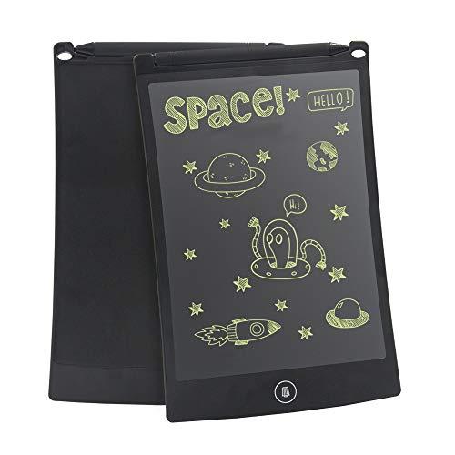 conecto LCD Schreibtafel digital Writing Tablet Grafiktablet Schreib-/Malbrett 8,5 Zoll, inkl. Magnet für Kühlschrank, schwarz
