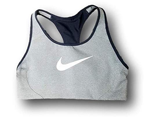 Nike Women's Victory Shape Sports Bra Grey Black AJ5219-091...