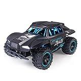 YYQIANG 1/18 Camión de monstruo de alta velocidad de alta velocidad, control remoto 4WD coche 2.4GHz Vehículo de carreras eléctrico de radio controlado por radio Crawnler Buggy mejor regalo para niños