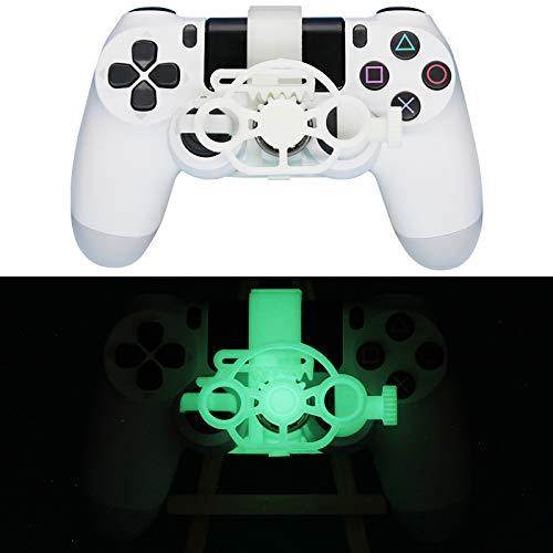 LICHIFIT Game Controller Mini Lenkrad Ersatz für Sony PS4 Racing Game Zubehör