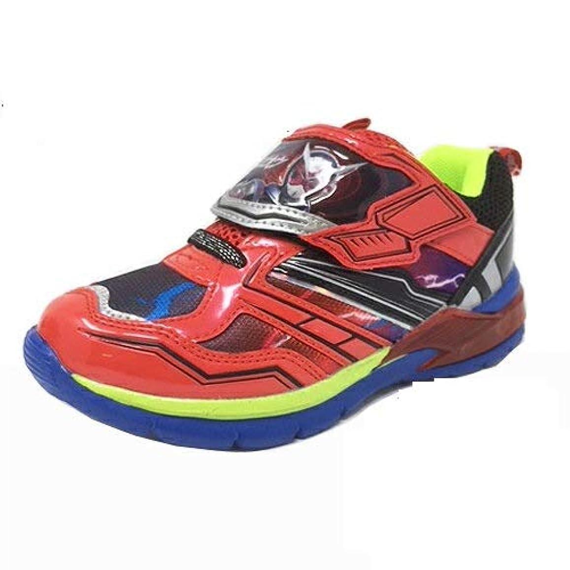 大型トラック恋人輝度[コマリョー] 9053 仮面ライダージオウ 光る キッズ スニーカー ライティング 仮面ライダー ライダー ジオウ 靴 運動靴 くつ