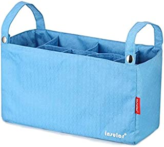 Trendy generous super cute Bag Liner Compartment Package Waterproof Multi-Function Baby Stroller Bag (Color : Orange, Size...
