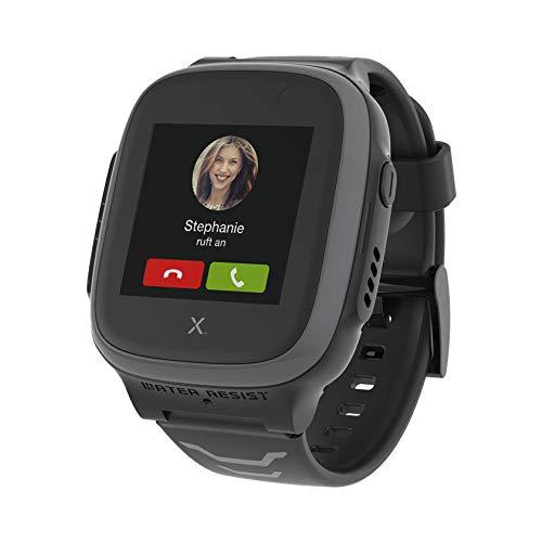 Xplora Kids Watch X5 Play eSIM GPS-Smartwatch für Kinder mit SOS-Taste, Standort-Anzeige, Telefon & Sprachnachrichten | per App mit Smartphone der Eltern verbunden | 30€ Amazon Gutschein, grau