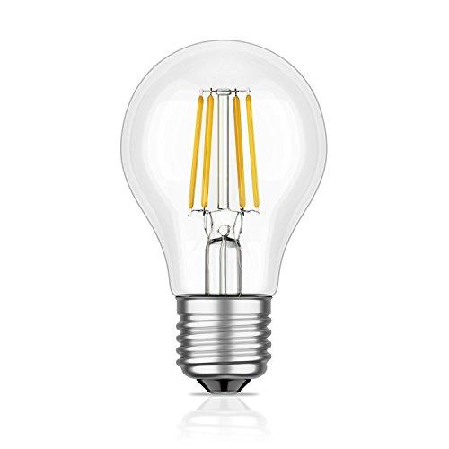 E27 LED-lamp filament A60 4W = 34W warmwit 380 lm A++ voor binnen en buiten