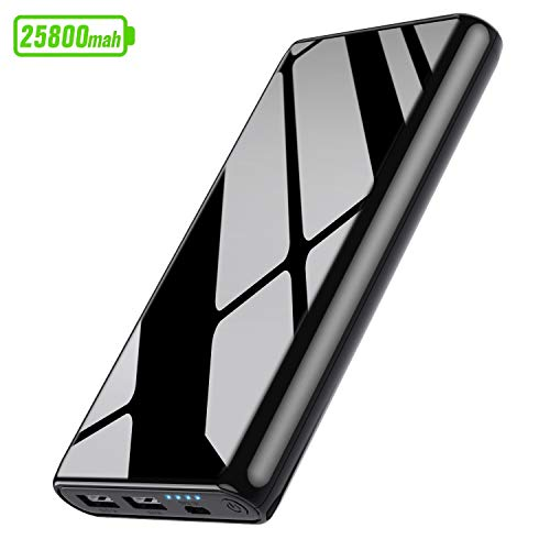 Ekrist Power Bank 25800mAh Batería Externa para Movil【