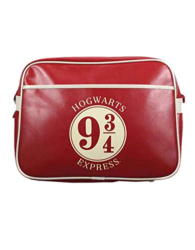 Harry Potter Hogwarts Express 9 3/4 Bolso Bandolera 45 Centimeters Rojo (Red)