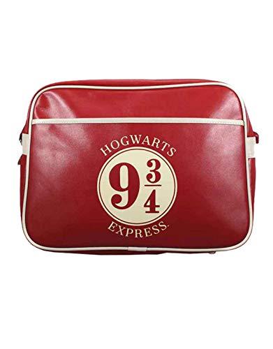 Harry Potter Hogwarts Express 9 3/4 Bolso Bandolera 45 Centimeters Rojo (Red)