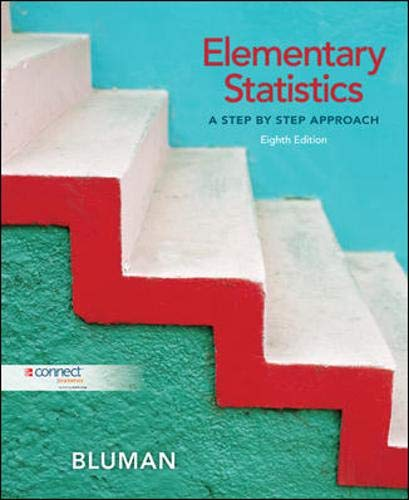 Elementary Statistics: A Step By Step Approach with Data CD and Formula Card