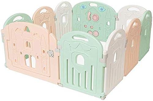 Baby Laufstall - Kids Activity Center Sicherheit Spielplatz Baby Zaun Spielbereich - Baby Gate Home Indoor Outdoor New Pen (Größe   10panels - 150x128x68cm)