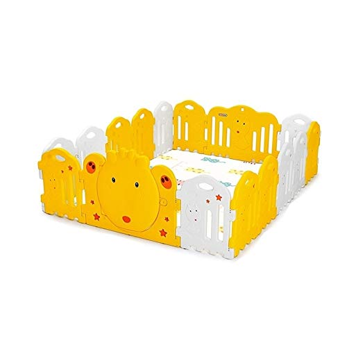 Affordable X/L Children's Playpen, Foldable Child Safety Activity Center Child Fence with Locked Doo...