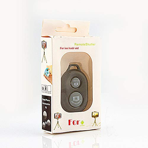 SOONHUA Mando a distancia inalámbrico Bluetooth con temporizador para iPhone 4/4S/5/5S/5C, iPad 2/3/4/Air, iPad Mini 1/2, iPod Touch 4th o más reciente