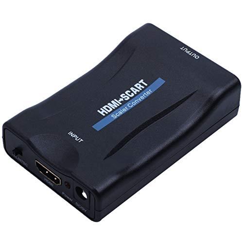 Gesh zu SCART 1080P Video Audio Konverter Scaler Smartphone STB DVD