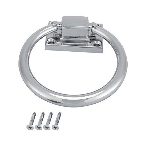Shiny Silber Drop Pull Ring Möbel Schrank Griff Holz Türklopfer Stuhl zieht Griff Schrankgriffe Möbelbeschläge