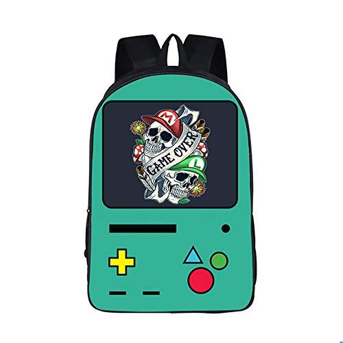 Rucksäcke,Rucksäcke aus der Game Console Series,Rucksäcke aus der Game Boy Series für Studenten,Abriebfest und bequem 16 Zoll