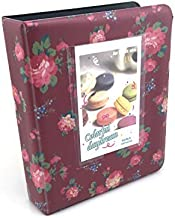 Hellohelio Fuji Instax Photo Album for Fuji Instax Mini 7s /8/8+/70/90/25/50s/ Polaroid Cameras (Rose)