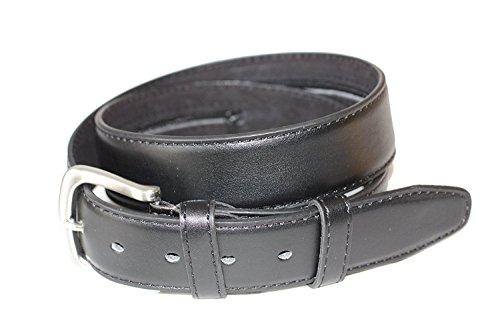 Emeco, Cintura con porta-denaro, in pelle, Money Belt colore nero, Unisex adulto, Nero , GR: 105 ( 120cm)