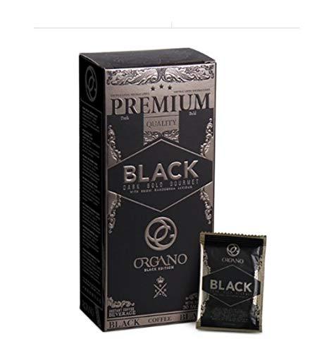 Organo Gold Gourmet café negro Premium 30 bolsitas Gourmet Black Coffee Ganoderma Wellness Coffee GanodermaLucidum