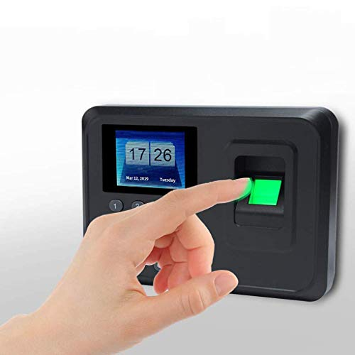 Cheapest Price! JSYCD LCD Screen Time Attendance Clock, Intelligent Biometric Fingerprint Password A...