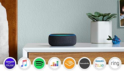 Enceinte Bluetooth connectée - Echo Dot