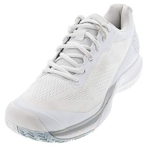 Wilson Scarpe da tennis da donna, RUSH PRO 3.5 W, Bianco/Bianco/Celeste, 39 1/3, Per tutte le superfici, Per tutti i tipi di giocatori, WRS327270E060
