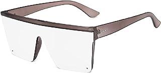 الأرجواني نظارات شمسية كبيرة في إطار واحد نظارات شمسية جديدة 2020 شارع بات القيادة الرجعية النظارات الشمسية