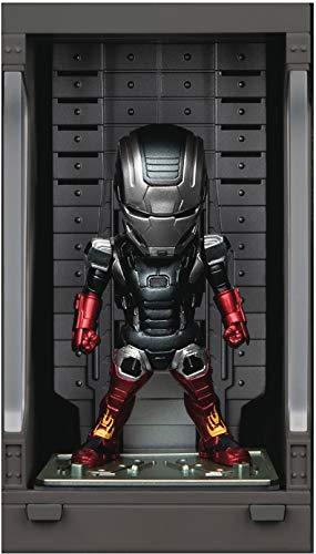 Beast Kingdom Toys Iron Man 3 Mini Egg Attack Action Figure Hall of Armor Iron Man Mark XXII 8 cm
