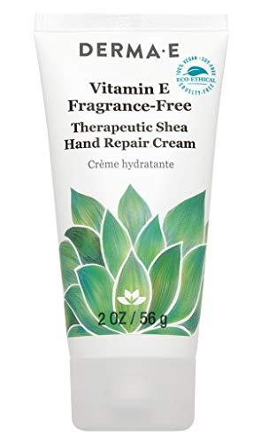 DERMA E Vitamin E Fragrance-Free, Therapeutic Moisture Shea Hand...