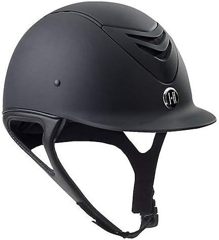 One K MIPS latest CCS Helmet M Black Oval Many popular brands Matte Long