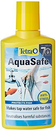 Tetra AquaSafe zum Umwandeln von Leitungswasser in sicheres und gesundes Wasser für Fische und Pflanzen, 250 ml
