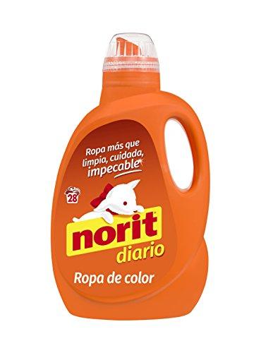 Norit - Detergente líquido para ropa de color, 28 lavados, 1500ml
