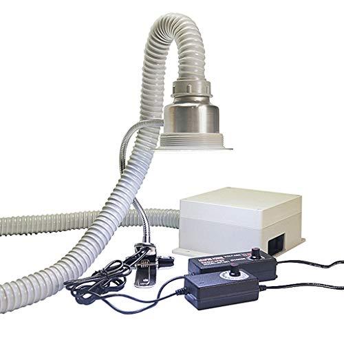 MXBAOHENG Extractor de humos Iluminación Soldador Soldador Escape Antiestático Eléctrico Absorbente de Humo Estación de Soldadura Herramienta de Trabajo