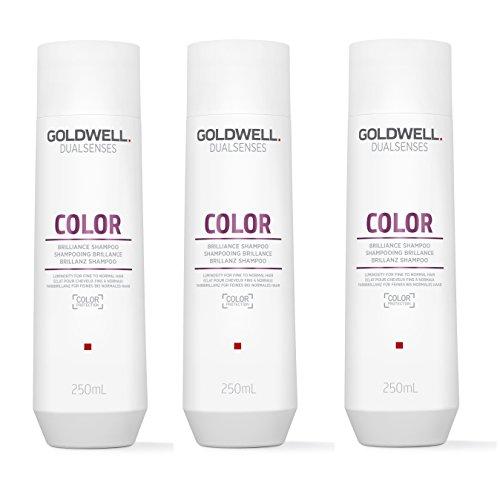 3Color Brilliance Champú dualsenses Gold Well Cuidado de colores para fino hasta Cabello Normal 250ml