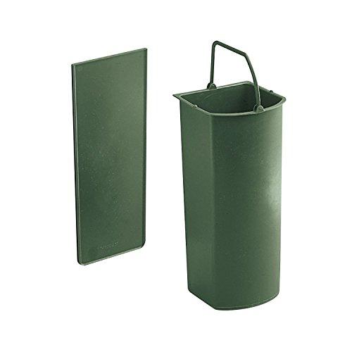 WESCO BIO-Einsatz mit Trennwand für Einbau-Abfallsammler Solo und Solo II | 5 Liter