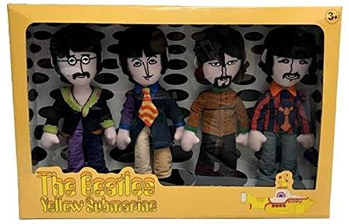 Factory Entertainment The Beatles Yellow Submarine Band Member Plush Box Set