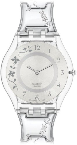 Swatch Skin Analog Silver Dial Women's Watch - SFK300G