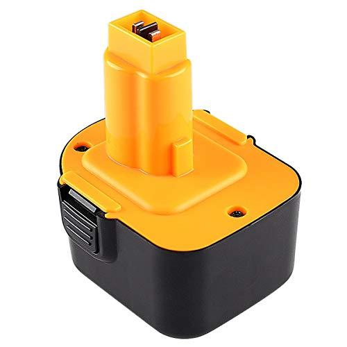 Topbatt 12V 3.0Ah Batería de repuesto para Dewalt Ni-MH DC9071 DE9071 DE9072 DE9074 DE9075 DE9037 DE9501 DW9071 DW9072 152250-27 397745-01
