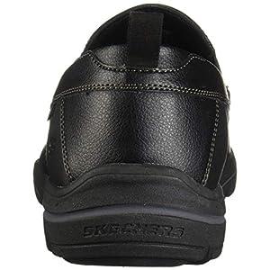 Skechers Men's Relaxed Fit: Harper-Forde Slip-On Loafer, Black, 10.5 M US