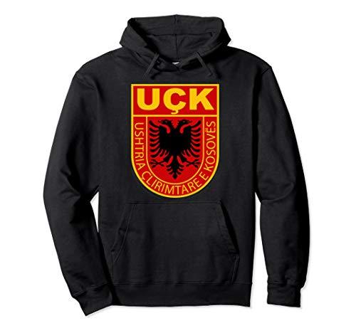 Uqk Armee Geschenk für eine stolze Albanische Kosovo uck Pullover Hoodie