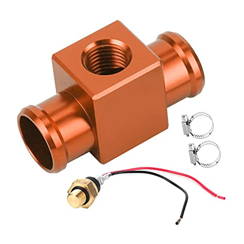 Impetuous Sensor de temperatura Sensores de automóviles Termostato Agua Temperatura Interruptor Radiador Refrigerante Sensor Temp Temp Sensor Ajuste para Motocicleta CANAL DE TELEVISIÓN BRITÁNICO