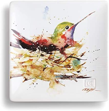 Decorative bird plates