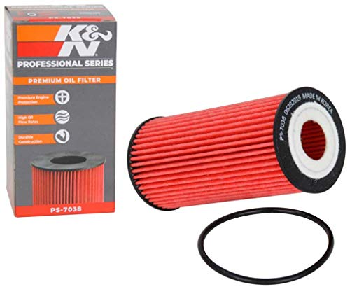 K&N Premium Oil Filter: Designed to Protect your Engine: Fits Select AUDI/PORSCHE/VOLKSWAGEN Vehicle Models (See Product Description for Full List of Compatible Vehicles), PS-7038