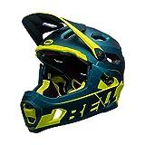 BELL Super DH MIPS Casco para Bicicleta de montaña, Unisex Adulto, Azul, S (52-56cm)