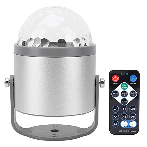 Lámpara giratoria, Dos Modos de conmutación Lámpara de proyector Fácil de Instalar para Viajes al Aire Libre para Fiestas de cumpleaños
